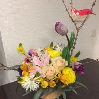 静岡講師会、イースターのアレンジ。