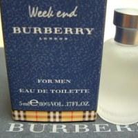 WEEKEND FOR MEN  : BURBERRY