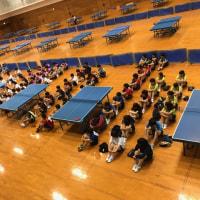阿南市総体 女子卓球部 結果報告