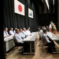 JA岩船米生産者集会♪