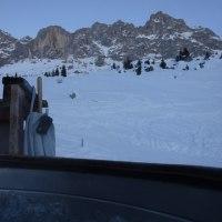 スイスの山小屋で露天風呂