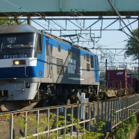 2017年4月24日  東海道貨物線  東戸塚  EF210-124 8052レ