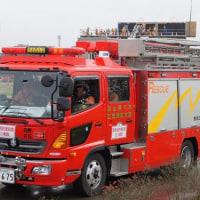 白山野々市広域事務組合消防本部 松任消防署 Ⅱ型救助工作車