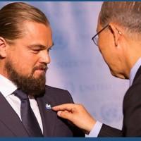 国連ピース・メッセンジャー  レオナルド・ディカプリオ氏による国際平和デースピーチ(2016)