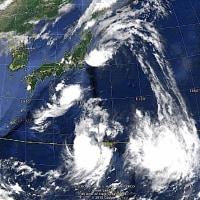 三つの台風が発生、接近! 〜 南西に進行する、動きが異常な台風も発生!。