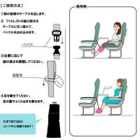 機内でのグッズ