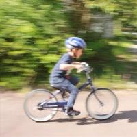自転車に乗れるようになったぞ!