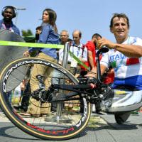 リオパラリンピック・ザナルディのメダルに感動 両脚切断、不屈の元F1ドライバー
