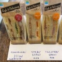 サンドイッチのカロリーとタンパク質量