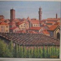 海外旅行で描いた油彩画(その19)