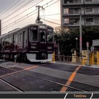 阪急淡路駅から柴島駅へ向かう