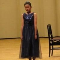 Mちゃんのピアノ発表会に行きました