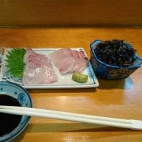 「居酒屋はじめ」!!「カンパチのお造り」!!