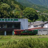 JR予土線の観光列車♪(5月27日)