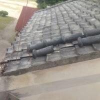豊受公民館の倉の屋根