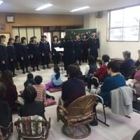 12月10日 サロン長坂台は、みんなで歌おうクリスマス