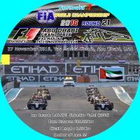 2016F1アブダビグランプリラベル