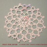 PRAY FOR JAPAN 棗のDPPパターンその4