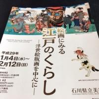 絵画でみる江戸のくらし@石川県立美術館