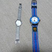 古い時計を電池交換