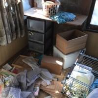 熊本市 解体前の片付け処分 不用品の搬出片付け ゴミ処分賜ります。