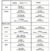 2016全国日豪協会連合会大阪大会新役員