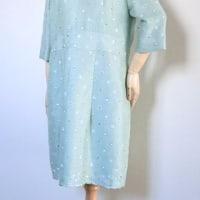 洋服生地からのワンピースドレスです♪
