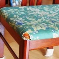 DIYで椅子の座面張替え&アレンジ甘酒