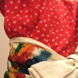 Re-making Old Kimono into New Costume for the performing Art...