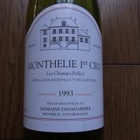 MONTHELIE 1er CRU 1993 Les Champs-Fulliot Domaine Changarnier