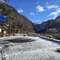 雪景色…。