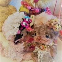 バラコちゃん☆ちび猫ちゃんのお世話をするの巻(●´ω`●)…オリコウチャン💛