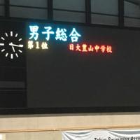 中学総体男子総合優勝!