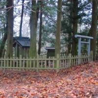 12 三笠山・星ヶ城山(671・817m:香川県小豆島町寒霞渓)登山  神社の一つ