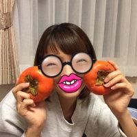 柿をいただきました