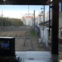 終点 鶴見支線 大川駅