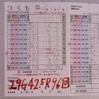 今日のゴルフ挑戦記(122)/新千葉CC「つくも」イン→アウト(ベント)