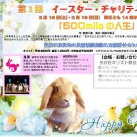 3月18日(土)&19日(日)にイースター・チャリティー演劇を行います!