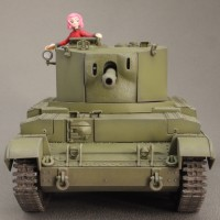 1/48 チャレンジャー巡行戦車 聖グロリアーナ女学院 完成です! (04)