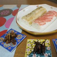 今日の昼食「金沢おみやげ」