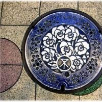 マンホールアートシリーズ(^^♪大阪市の市政100周年記念マンホール