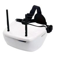 5%OFF-Skyzone SJ-H01 960*1080 2D 3D 40CH FPV ゴーグル AV ビデオ ヘッドセット HDMI ヘッドトラッカー付く