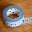 定規になるマスキングテープ