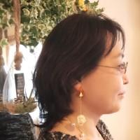 【香るアクセサリー】香珠codama〜世界でたった1つのアロマピアス〜精油付き♪べっ甲編
