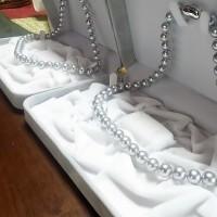 厄除け 黒(染)本真珠ネックレス