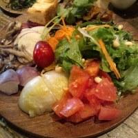 恵比寿食スポット・・・オーガニックのお野菜てんこ盛り~!