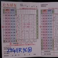 今日のゴルフ挑戦記(91)/新千葉CC「たちばな」イン→アウト(ベント)