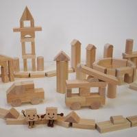 積み木の街なみ