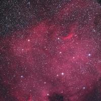 【はくちょう座】 NGC7000 雨多しという予報の中快晴