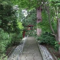 ぶらり旅・野尻湖遊覧船②宇賀神社(長野県上水内郡信濃町)